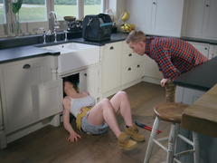 Plumber Carly Rae Summers seduces owner of the house for sex