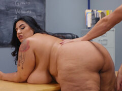 BBW teacher Sofia Rose seduces one of her student's parent