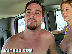 BAIT BUS - Cuban Italian hetero Bait Tony Michaels Gets Tricked!