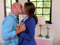 Beautiful Shae Snow is turned on by her stepdaddy dominance