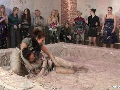 Catfight, Nude, Mokra, Wrestling