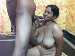 Indian bitch with sizeable boobs having sex PART-5