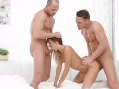 18 Videoz - Katrin Tequila - All-white home Double drilling party