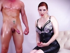 Service my Stud -Lady Fyre Forced Bi Female domination
