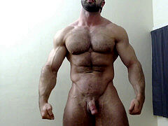 ideal muscley and fur covered