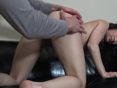 Cuckold husband is forced to watch his wife getting banged by a stranger