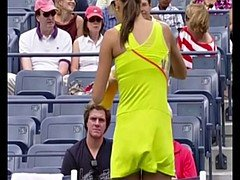 Maria Sharapova vs Ana Ivanovic Jerk Off Challenge