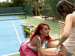 ultra-kinky lesbo Sisters 0three - Scene 3