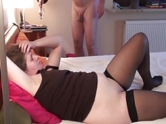 Husband films wife