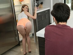Surprise in the shower as Jill Kassidy fucks her best friend's brothe