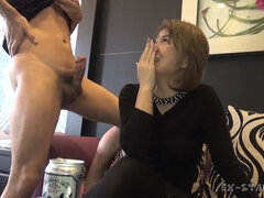 Horny youngster likes to fuck grannies