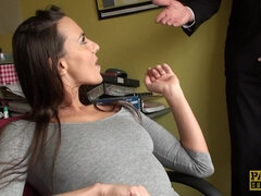 Virgin Sub's Best Fuck Ever - mea melone wih big natural boobs ass fucked