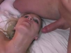 True german young and fresh swinger homemade mmf three-way with blonde bitch