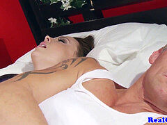 Housewife booty-fucked by a midnight burglar