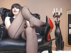Dominatrix Heels JOI and besides Sextoy give head instructions