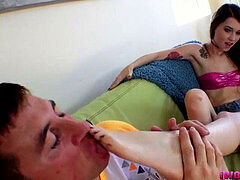 feet adore and Footjob
