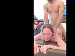 Amateur big dick, amateur interracial, cumslut wife