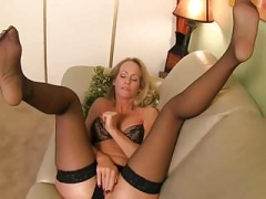 Hot Sexually available mom Lady Simone In Stockings Joi #MrBrain1988