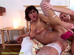 lean mummy extraordinary rough pumped and fucked