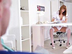 Nurse Victoria Daniels Loves it Explicit All Holes