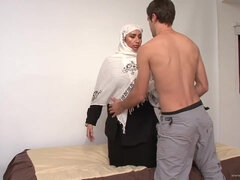 Steamy woman arabian  - Point Of View