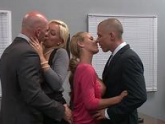 Brazzers Major Channel - Lexi Swallow Nicole Aniston Johnny Sins Mick Blue - Hard n Firm