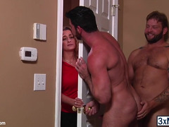 Homosexual lovers Billy Santoro and Colby Jansen enjoys each single other ramrod