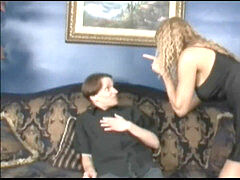 mommy makes man were diaper and punishes him with her strapon