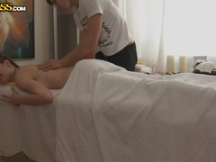 Exciting pussy massage movie