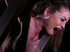 Wheel of Pain amazing rough femdom fetish BDSM spanking