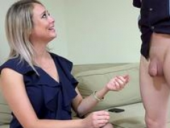 Elle McRae and furthermore her sissy cuckold sharing a black penis