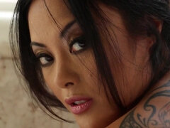 Cute Asian Kaylani Lei Gets Butt Shagged