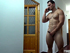 dream flex muscle Sergio jacking off