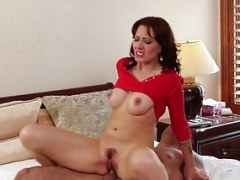 Housewife eager mom pussy fucked in taboo couple