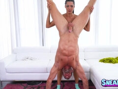 Flexible sporty Alexa Tomas fucked hard in various poses