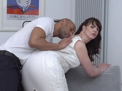 British naughty housewife Toni Lace goes interracial