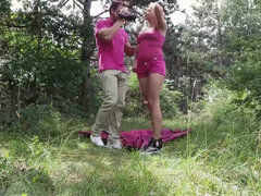 Hot anal action outdoor in public with Tricia Teen