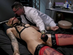Submissive A.I. - Sexy Ryder Monroe is Punished by Cynical Scientist