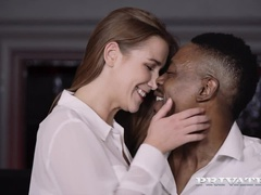 Stars In Interracial DP Threesome - PrivateStars