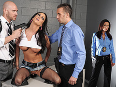 Jessica Jaymes Punish With The Officers Baton