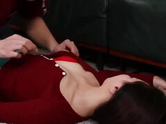 Unbelievable small titted oriental girl getting drilled very hard