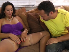 Persia Monir seduced younger guy to fuck
