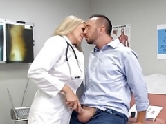 Ultimate Blonde Doctor Eager mom