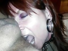 Nasty Mom i`d like to fuck Gives Rimjob