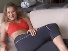 Farting in spandex pants