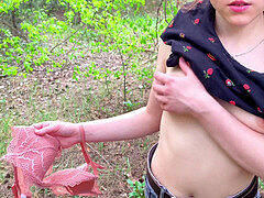 Risky Public Sex In Nature. blowage and cum swallow - Lucky69Pussy