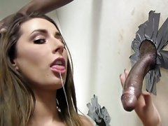 Bum Paige Turnah Gives bj Big Black Love tool - Gloryhole