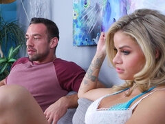 Gorgeous blonde likes to fuck married men