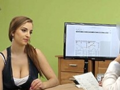 LOAN4K. Hot pornography in the loan office of Suzie Sun and tricky..