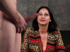 Cassie Clarke - Rope The Bull CFNM Masturbation